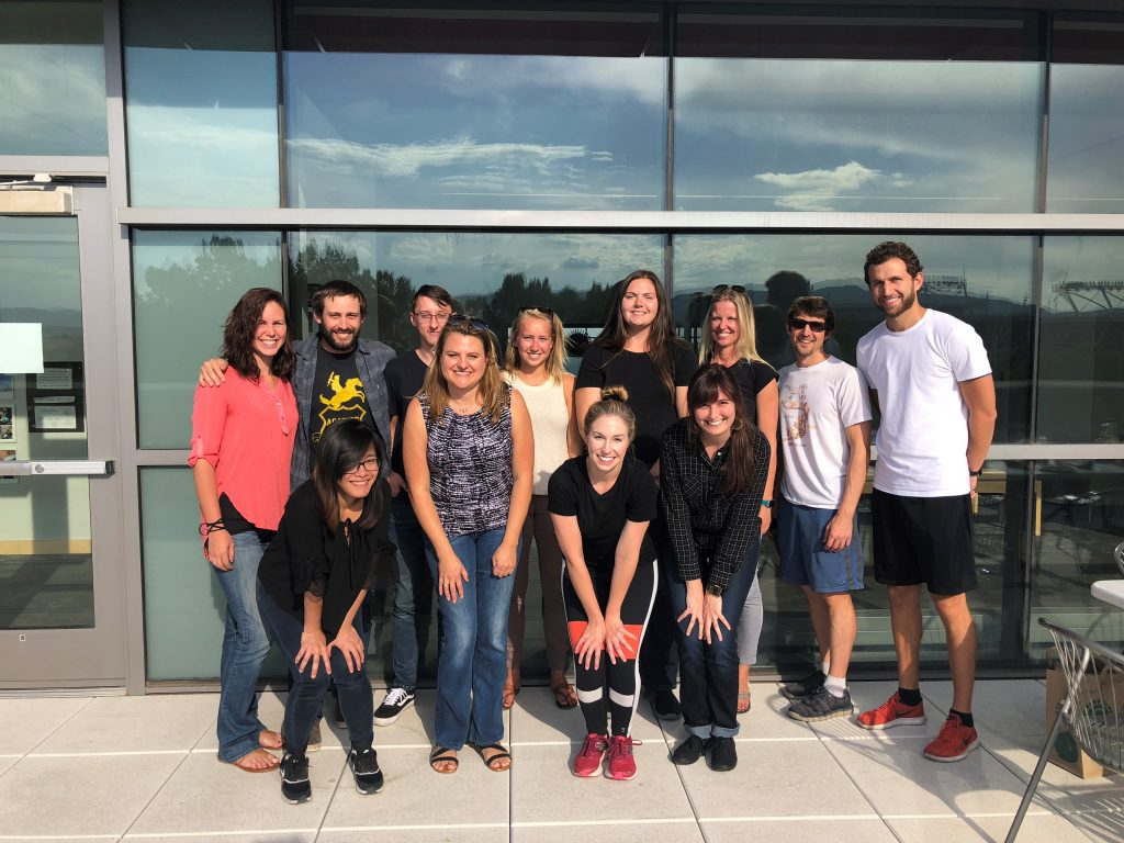 Applied Social and Health psychology students and staff